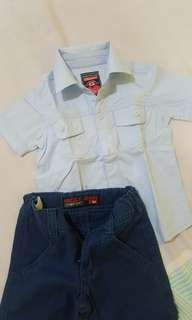 Grizzly set (M) (1y)