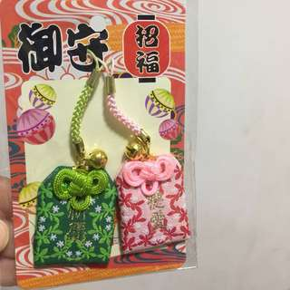 Japan accessories 日本傳統許願願望祝福掛飾