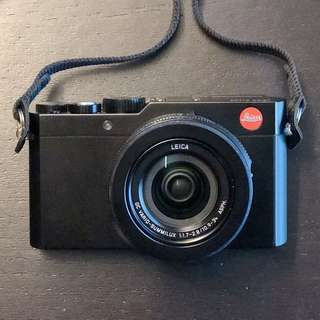 LEICA D-LUX (TYP 109) Camera Black