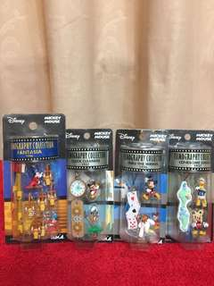 Disney Mickey Mouse Filmography Collection Figurine Chain  迪士尼人物電話繩