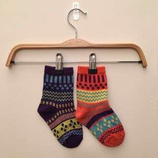 Multicolored High Socks