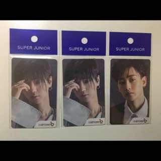Super Junior SJ (Cashbee韓國交通卡) (藝聲款)
