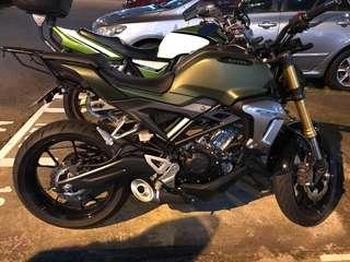Honda CB150R Rack