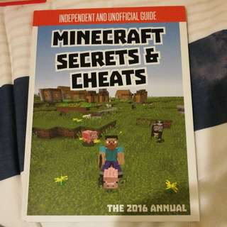 Minecraft Secrets & Cheats 2016 annual