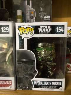 Star Wars Funko Pop Chrome Imperial Death Trooper