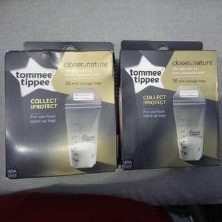 Milk storage bags 36x2box