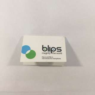 BLIPS Macro & Micro mini-lenses for smartphone