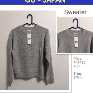 GU Japan - Fashionable Sweater