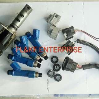Injector biru&vvti sensor Toyota yaris 1nzfe