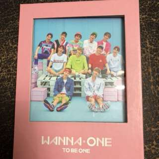 Wanna One - To be one CD(韓版)$100/1隻