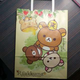 Rilakkuma paperbag