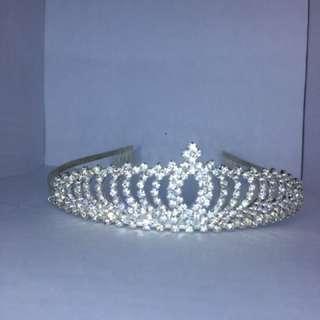 Bando mahkota pengantin crown diamond