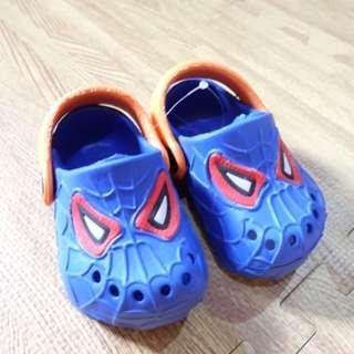 Spiderman Crocs lookalike