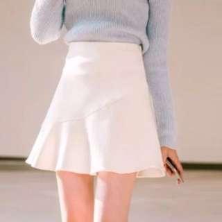 🚚 高腰荷葉邊魚尾裙