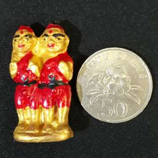 Lp Yeam twin kumantong Kmt brother Gumantong Gmt thai thailand siam amulet lucky
