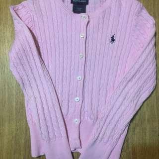 女童Polo 冷外套 for approx. Age 7, 135cm, S size