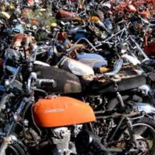 Free motorcycle scrapping