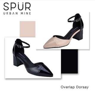 Spur Urban Mine Overlap D'orsay Heels in black