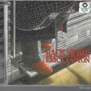 MY PRELOVED CD - ERIC CLAPTON BACK HOME  /FREE DELIVERY (F3U)