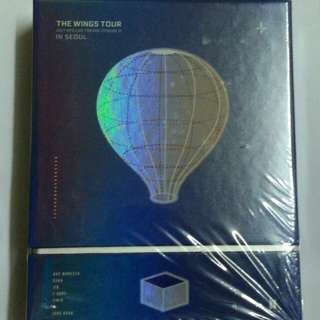 [FOR SALE] BTS THE WINGS TOUR IN SEOUL DVD + POSTER
