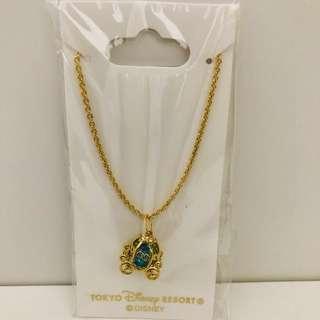 Tokyo DisneySea Cinderella carriage necklace
