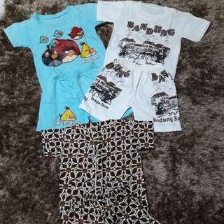 Baju 3 set
