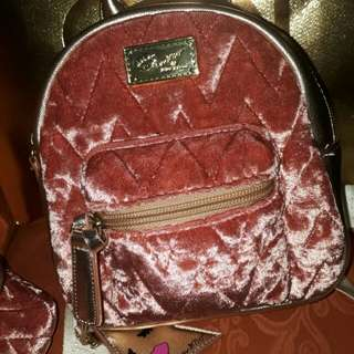 Luv Betsey Small Backpack and Arm Bag
