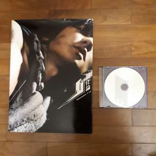 林俊杰《进化论》写真集+单曲+海报 JJ Lin Metamorphosis photo book + single CD +poster
