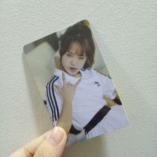Sale !! Weki Meki weme yoojung photocard instock