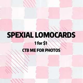 SpeXial Lomocards
