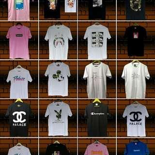 tshirt kaos all brand