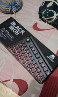 Digital Alliance Black Iron RGB Semi Mechanical Keyboard
