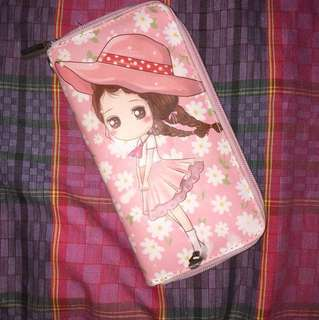 Dompet Anime Pink Murah