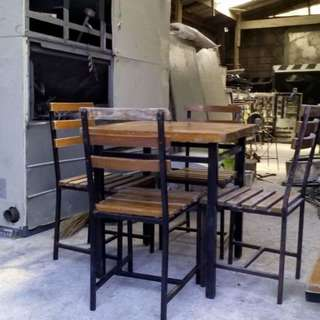 mang inasal table and chairs