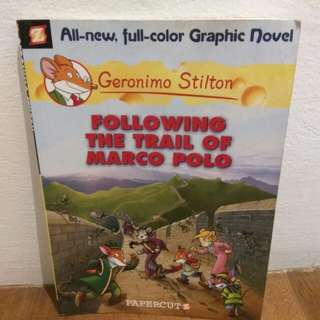 Geronimo Stilton-Following the Trail of Marco Polo