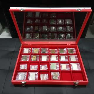 24 lot Amulet Tray for sale.