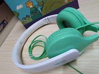 MINISO Tiffany blue head phone