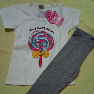 BN Tshirt and Leggings