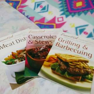 cook book (set of 3)