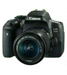 Buying Canon EOS 750D