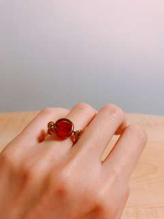 Vintage chain ring