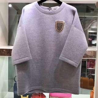 客戶閒置 Dior 徽章中袖上衣 38碼