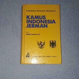Kamus Indonesia - Jerman #umn2018