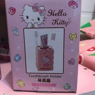 Hello kitty浴室牙刷座