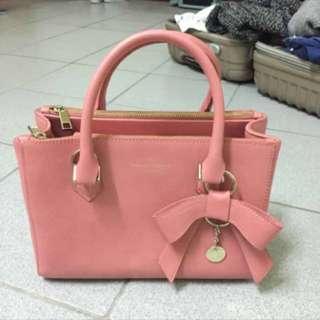 🚚 韓國粉色手提包