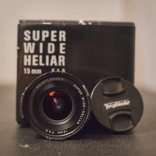 Voigtlander Super Wide Heliar II 15mm F4.5