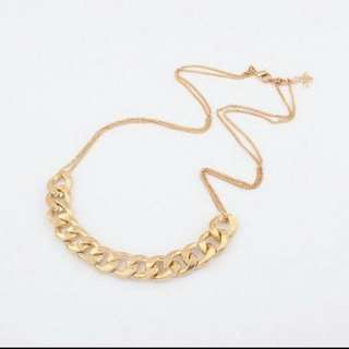 Statement chain necklace (gold) & many more!
