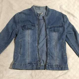 Semi Bomber Denim Jacket