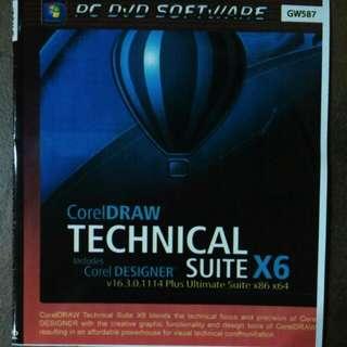 Coreldraw technical suite x6