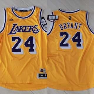 ADIDAS NBA LA LAKERS KOBE BRYANT HOME SWINGMAN JERSEY 1987-88 湖人高比拜恩球衣
